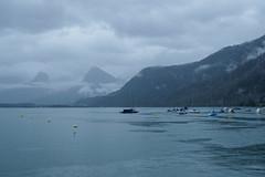 Early Ferry at St Gilgen-E7060115 (tony.rummery) Tags: austria boats buoy em10 lake lakeside landscape mft microfourthirds mist morning omd olympus reflections stgilgen wolfgangsee sanktgilgen salzburg at