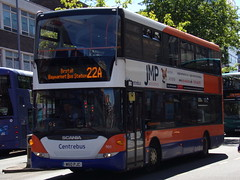 Centrebus Scania Omnidekka 901 W60 PJC (Alex S. Transport Photography) Tags: bus outdoor road vehicle centrebus scania omnidekka n230ud 901 route22a w60pjc 15169 lx59cso