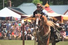 Lady Lancer (yelovet00) Tags: 2018muttonmeadmedievalfestival joust horse knight