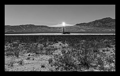 Alien Communicator (JohnKuriyan) Tags: ivanpah solar project mohave desert california