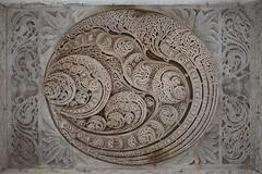 Stoned Brain (Gwen Fran) Tags: asia asie inde india jaïn rajasthan ranakpur architecture hindou hindu jaintemple temple ceiling plafond sculpture brain cerveau