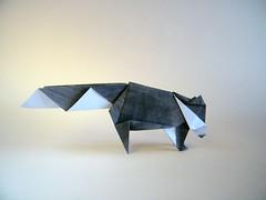 Raccoon - Andrew Hudson (Rui.Roda) Tags: origami papiroflexia papierfalten raccoon andrew hudson