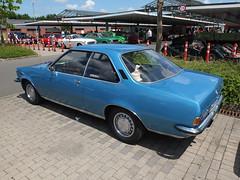 Opel Rekord D Coupé 1700 1973 (Zappadong) Tags: opel rekord d coupé 1700 1973 neustadt am rübenberge 2017 zappadong oldtimer youngtimer auto automobile automobil car coche voiture classic classics oldie oldtimertreffen carshow