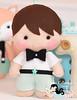 Um menino e uma raposinha... bem amiguinhos! ♡ (Ei menina! - Érica Catarina) Tags: menino boy letrasdecoradas bebê enfeitedeporta enfeites