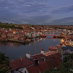 Whitby at night. thumbnail