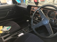 1980 Toyota Celica ST 2Litre & 5speed manual gearbox (mangopulp2008) Tags: 1980 toyota celica st 2litre 5speed manual gearbox