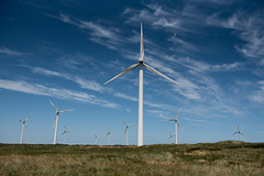 Carnsore Point Windfarm (shaymurphy) Tags: carnsore point wexford ireland wind turbine windfarm farm power alternative energy green natural alternate irish smp2345 blue sky clouds field meadow