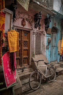 Colorful Varanasi Alley