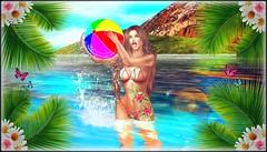 ♔ LoTd 151 (Victoria Michigan) Tags: twe12ve ebp clblue carolg swank event truth cazimi tropical tattoo poses pose lelutka maitreya blogger gift image essentials
