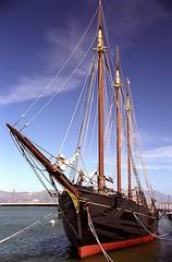 "San Francisco – Hyde Street Pier Historic Ships ""C.A. Thayer"" (David Paul Ohmer) Tags: san francisco california hyde street pier historic ships ca thayer waterfront"