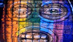 Guerrilla Rainbow (Colombaie) Tags: prenestino pigneto tramonto domenica passeggiata malumore riprendersi io marco parcodelleenergie exsnia viscosa roma streetart murales arte contemporanea