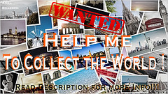 Help me to collect the world !! *real contest and challenge* (_Adra Braeden_ *Client List CLOSED*) Tags: contest postcards world collection real