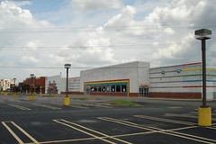 """Former Toys """"R"""" Us, Mall of Memphis, Memphis, TN (Retail Retell) Tags: toys""""r""""us kids""""r""""us memphis tn mall trolley station shopping center rainbow tile exterior geoffrey giraffe retail liquidation closing former toy store toys r us shelby county kids clothing hauntedweb house horrors haunted mallofmemphis"""