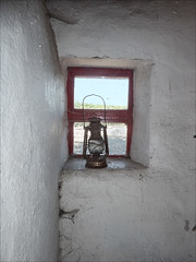 Window lamp (catb -) Tags: lullymore kildare ireland bog window lamp cottage replica famine