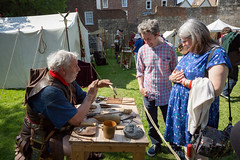 2016-06-05 - 20160605-018A8351 (snickleway) Tags: roman yorkshire museumgardens yorkromanfestival canonef1740mmf4lusm historicalreenactment park soldier york england unitedkingdom gb