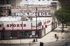 ABOLISH ICE (Rodosaw) Tags: lurrkgod getchamans chicago graffiti documentation street art graffitiart abolish ice fuckice abolishice