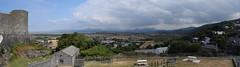 Snowdonia from Harlech Castle (StevenParsons42) Tags: wales cymru snowdonia harlech castle landscape vista weather