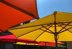 Umbrellas (dweible1109) Tags: colorfull colors beachumbrella beach nj newjersey jerseyshore