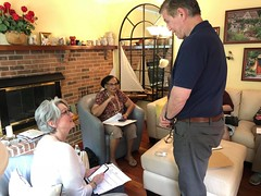 """Canvassing in Lee (Fairfax) for Sen. Kaine and the Dem ticket • <a style=""""font-size:0.8em;"""" href=""""http://www.flickr.com/photos/117301827@N08/41641349350/"""" target=""""_blank"""">View on Flickr</a>"""