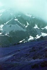 film (La fille renne) Tags: film analog 35mm lafillerenne expiredfilm expired canonae1program 50mmf18 lomochrome lomochromepurple lomochromepurplexr100400 purple mountains hiking landscape
