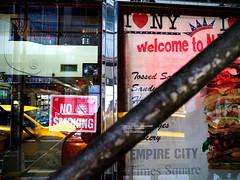 "Pipe and ""I love N.Y."" (mitsushiro-nakagawa) Tags: new york manahattan usa color"