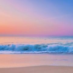 Spring Colors (alize_28) Tags: beach sea sunrise leverdesoleil vagues waves paysage landscape nature printemps spring pastel paradis paradise trezhir plougonvelin finistère bretagne france nikon