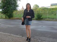 Milano - Via Portaluppi (Alessia Cross) Tags: crossdresser tgirl transgender transvestite travestito