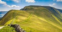 High Street (Ian Emerson) Tags: cumbria lakedistrict clouds shadows drystone wall path hiking landscape outdoor coast2coast canon