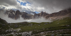 ...from the pinnacle to the pit. (lars feldhaus) Tags: travel mountains dolomites hiking holiday nature