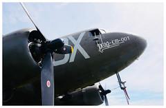 "C-47 ""Drag 'em oot"" at RAF Bicester (Ciaranchef's photography.) Tags: c47skytrain c47 dday overlord radial engine dc3dakota dc3 douglas nikonaviation nikond7000"
