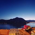 Blue hour over Lago di Lugano thumbnail