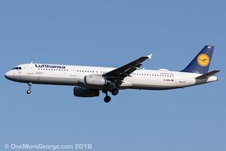 LGAV I 03.06.2018 I Airbus A321-131 I D-AIRA