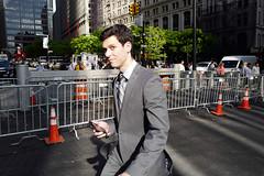 ... (yaya13baut) Tags: newyork manhattan man look light street streetphoto streetphotography candid leica leicaq leicadigital leicacamera