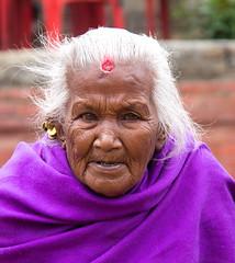 Nepalese lady (SamKirk9) Tags: nepal kathmandu bhaktapur