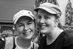 Best Friends (christopher.czlapka) Tags: happy cute smile wife flickr bestfriend friends family portrait portraiture blackandwhite