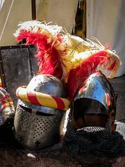 Plumed Helmets, Avignon (bobbex) Tags: france avignon medieval historic armour