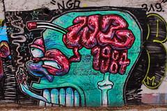 WZ (Globe Street Art and Landscapes) Tags: streetart art arte graffiti españa spain barcelona europe europa canon canont6 eos digital arteurbano graffitiart graffitiporn
