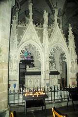 Tréguier (Côtes-d'Armor) (PierreG_09) Tags: côtesdarmor ville village architecture bretagne tréguier clocher église cathédralesainttugdual cathédrale sainttugdual gothique tombeau saintyves
