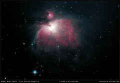 M42, the Great Orion Nebula (2017 version) (Andries Cafmeyer Astrophotography) Tags: m42 orion celestron cgx skywatcher explorer 150pds newtonian reflector canon eos 60d astronomy astrophotography stargazing nebula ngc1976 sh2281 lbn974 ced55d zwo asi 120mm apt astro photography tool phd2 guiding adobe lightroom photoshop dss deep sky stacker noiseless