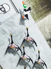 oakoak // Brussels, Belgium (schenkenstein) Tags: oakoak streetart duckhunt nes neyes