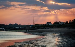 Sun Rays (adox66) Tags: sigma d7100 nikon ireland dublin rush nature color colour beach water coast light sun sky sea seascape landscape