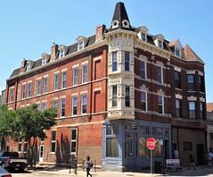 1501 - 1503 W. 18th Street (Brule Laker) Tags: chicago illinois pilsen caf chicagoarchitecturefoundation walkpilsen