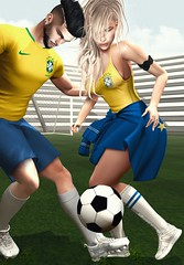 〰     ᵖ ᶤ ᶜ ᵏ ᵘ ᵖ   ˢ ᵒ ᶜ ᶜ ᵉ ʳ   ᵍ ᵃ ᵐ ᵉ. (ℒزdsα) Tags: argrace petrymodel valekoer noblecreations soccer game couple louve futebol copa worldcup fifa brasil brazil soccerball yellow time team casal amor itdoll doll girl cute woman lotd fashion gamer gamergirl gamedoll avatar sl secondlife slavatar slfashion free freebie mesh pixel virtual virtualworld beauty beautiful photo photograph snapshot clothing clothes picture blog blogger slblogger secondlifeblogger moda event evento roupas gratuito garota blogueira loja sponsor field