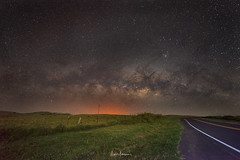 Close Encounters On Saddle Road (JUNEAU BISCUITS) Tags: milkyway astrophotography astronomy stars skyscape starscape nikon starrylandscapestacker hawaii hawaiiphotographer saddleroad bigisland longexposure