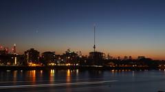 London (markgodfrey1) Tags: london city skyline night 28mm vivitar sky sunset river long exposure light trail crane shadow dark sony a6000 f16 manual reflection longexposure ilce6000 thames raw