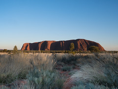 Uluru Morning (Marcia H) Tags: 2017 australia ayersrock nt northernteritory redcentre uluru ulurukatatjutanationalpark sabbatical sacred sandstone