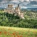 Alcázar of Segovia: a spring view