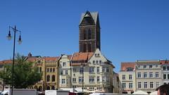 Hansestadt Wismar (krutzimuc) Tags: germany deutschland mecklenburgvorpommern meer outdoor ostsee urlaub city freizeit gebäude schiffe segelschiff weltkulturerbe architektur turm