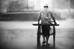 The Apple Seller's Epic Journey (N A Y E E M) Tags: seller vendor hawker cart apples friday afternoon rain downpour monsoon street crbroad chittagong bangladesh windshield mood atmosphere