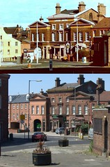 Picton Clock Roundabout and High Street, Wavertree, 1980s and 2018 (Keithjones84) Tags: liverpool oldliverpool thenandnow rephotography